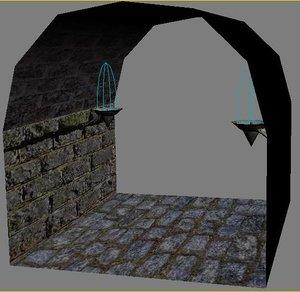dungeon parts 3d max