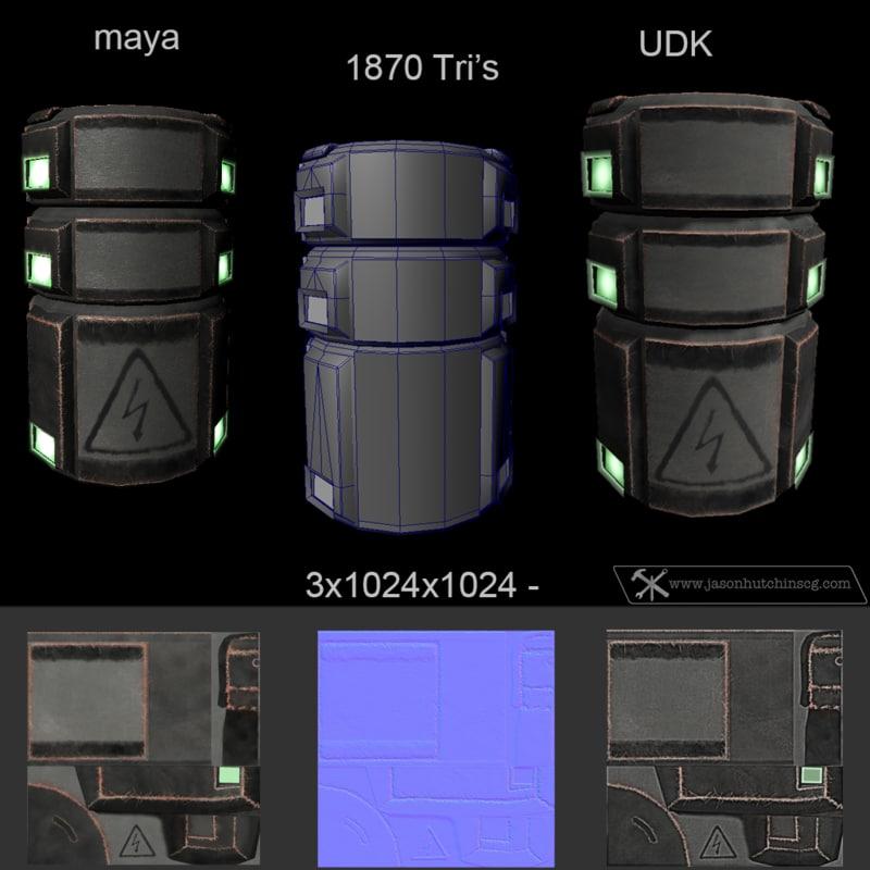 obj energy barrel