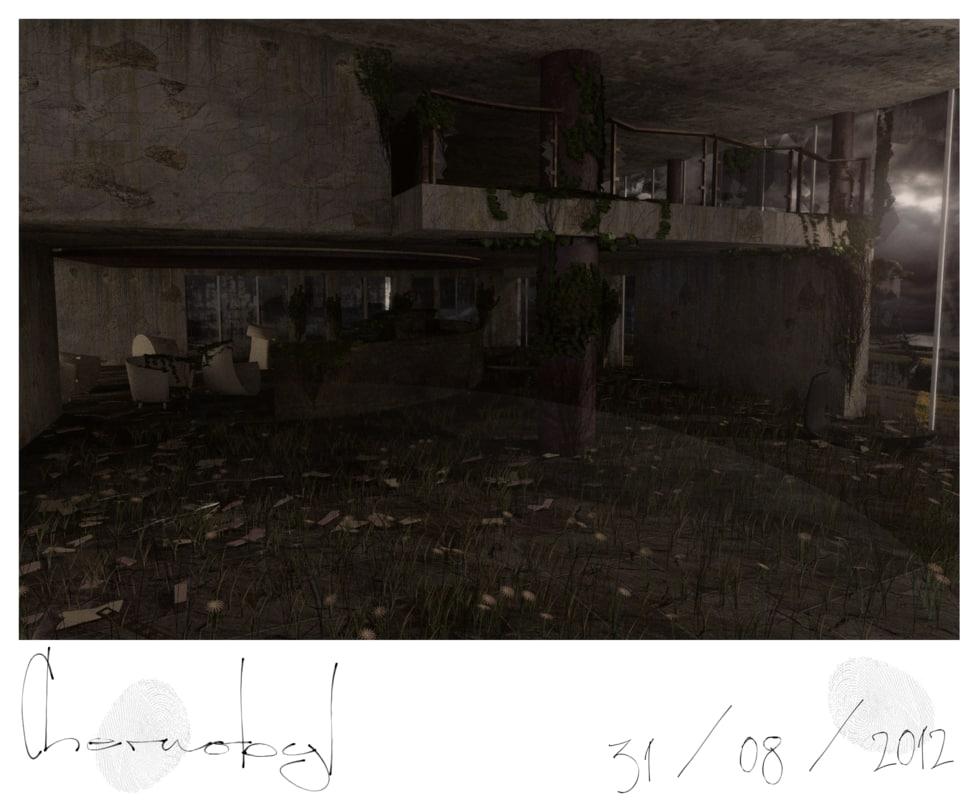 fallout stalker 3d obj