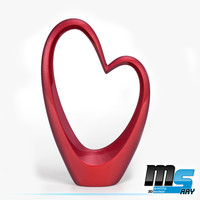 max sweet heart sculpture