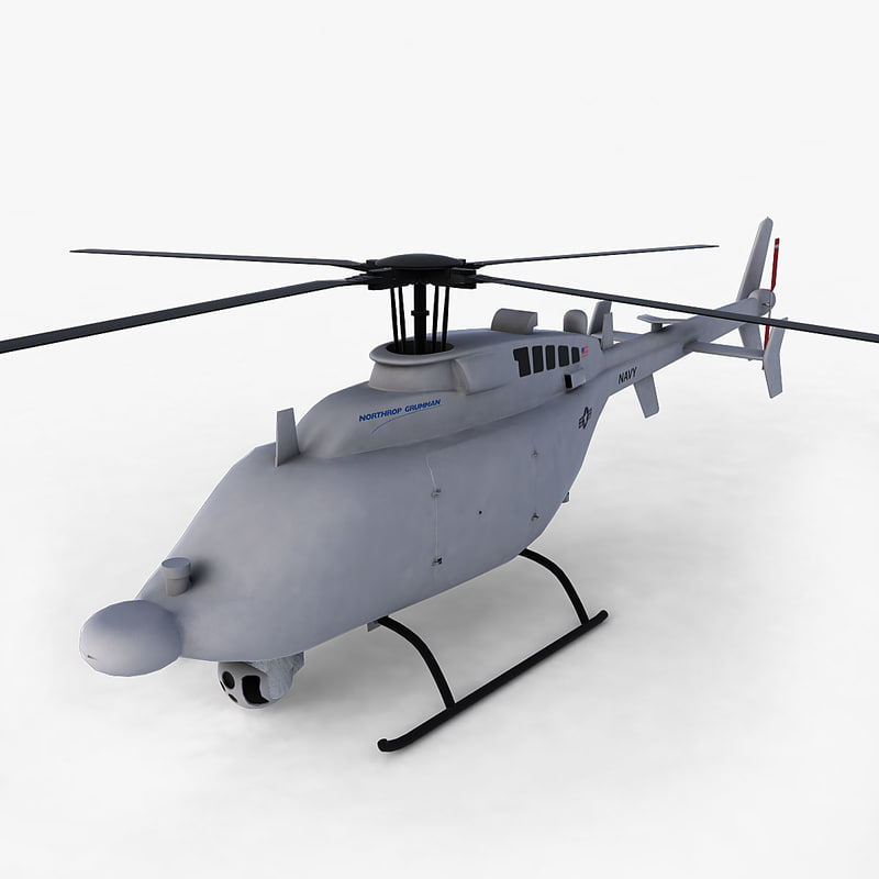 mq-8c unmanned 3d model