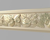 3d classical moulding 01 model