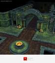 Low Poly Dungeon Builder Starter Set