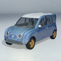 3d concept renault r4l