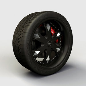 3ds max baccarat athlete rims -