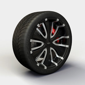 baccarat passion rims tyre 3d 3ds