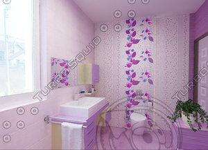 tile freestone porcelanite es 3d model