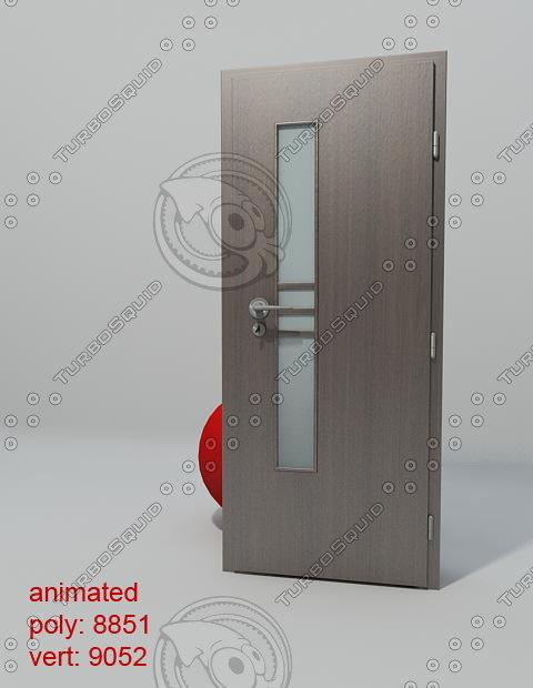 3d model door porta concept e1