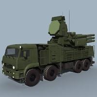 pantsir-s1 sa-22 3d model