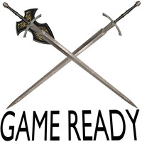 2 realistic game sword´s