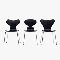 maya chair set design