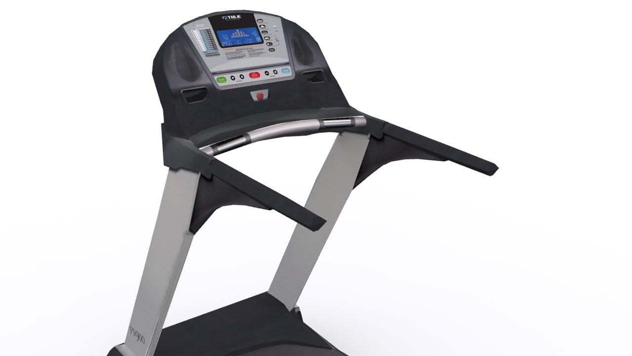 3d running treadmill 1
