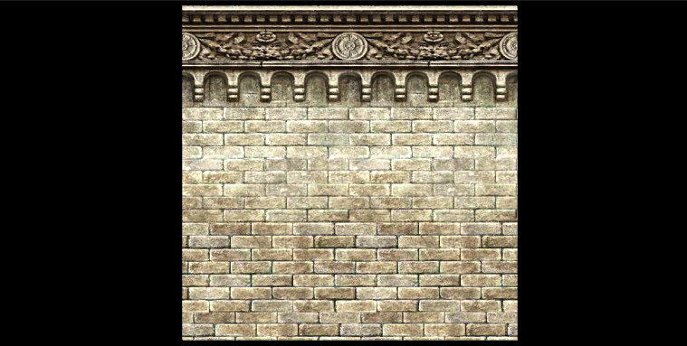 architectural wall 3ds
