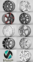 Volvo S60 rims collection