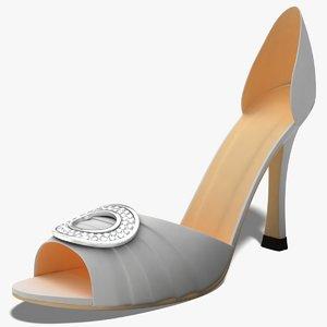 3d dugm03 shoes model