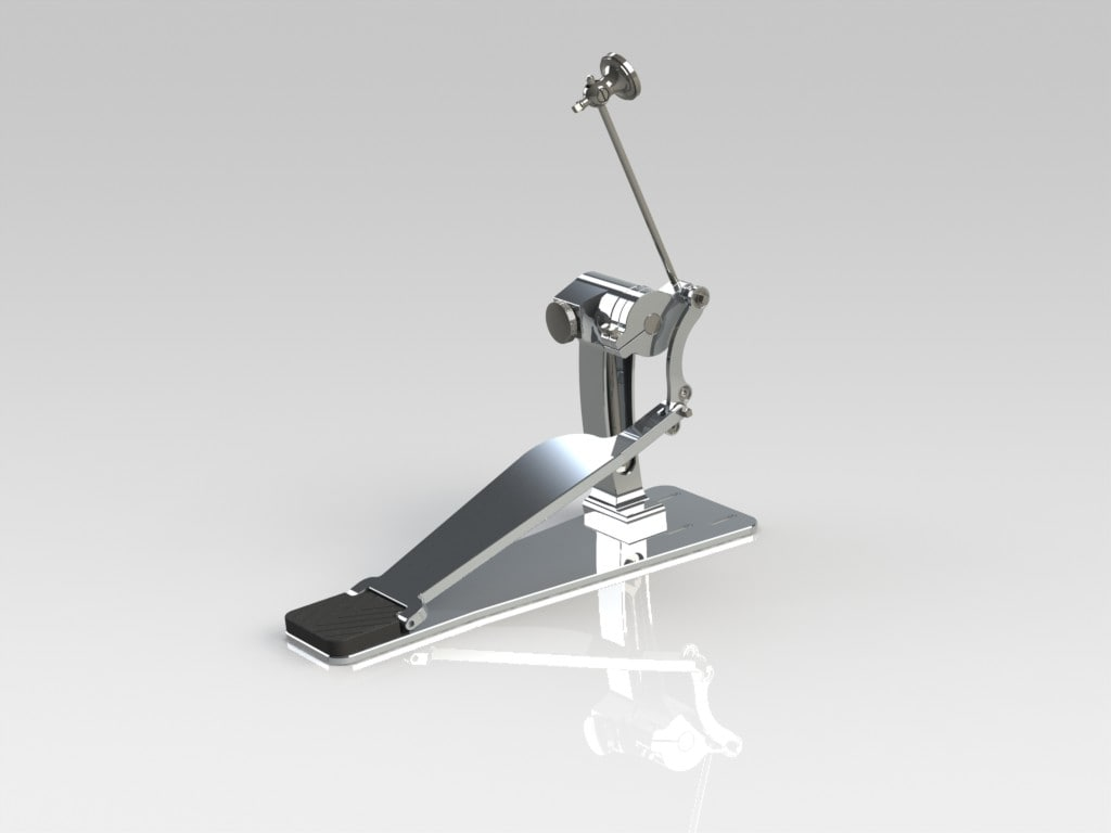 3d model drum pedal