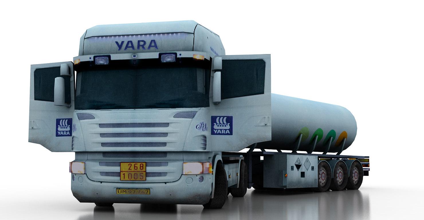 obj scania tanker