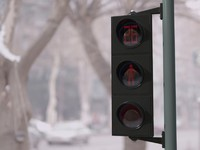 3d traffic lights model