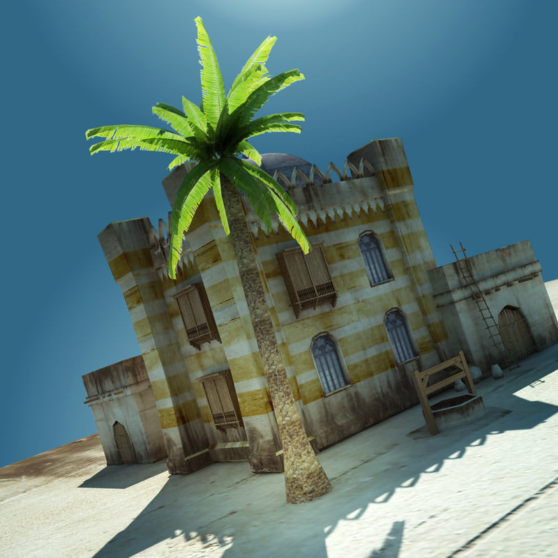 old home 3d max