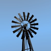 free obj model windmill