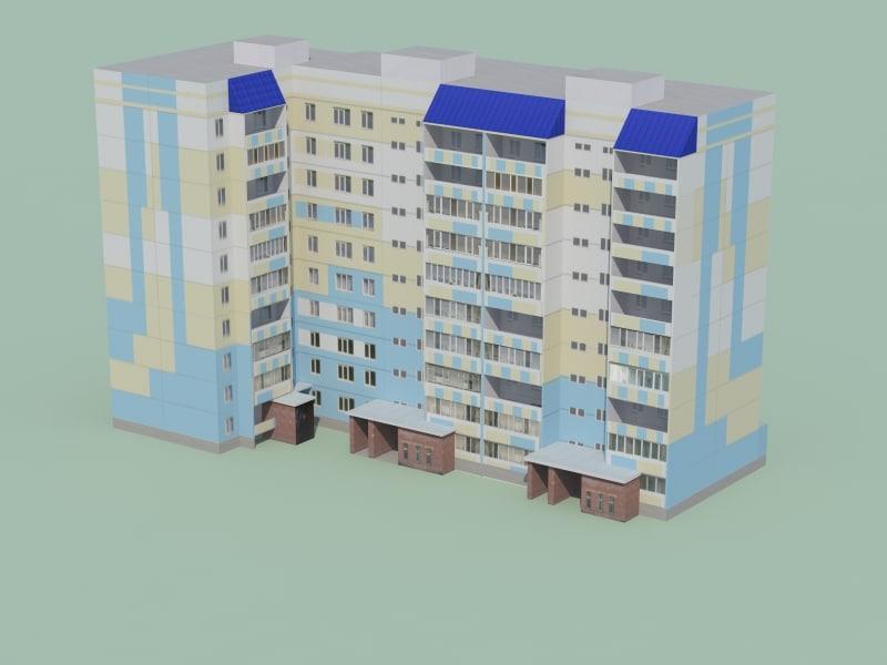 3d low-polygonal building games