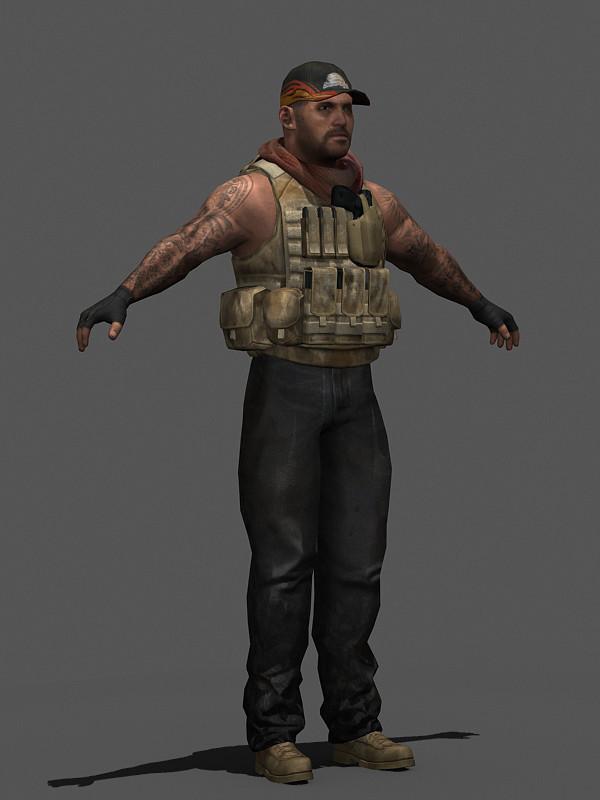 military human max