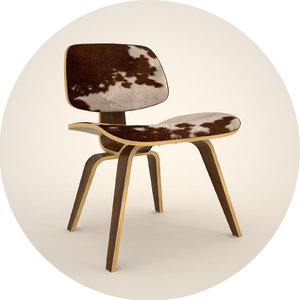 lcm chair 3d 3ds