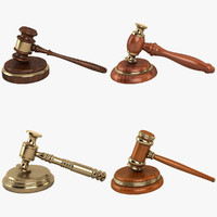 Law Gavel Collection