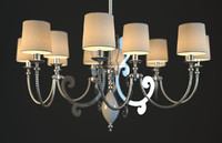 3dsmax paralume marina chandelier