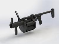 max 40mm 6g30 grenade launcher