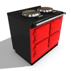 free cooker aga 3d model