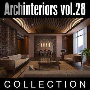 3ds max archinteriors vol 28 interior scenes