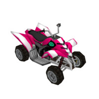 low poly ATV 12