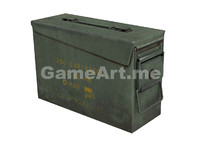 ready ammunition box rifle bullet 3d max