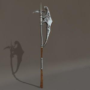 c4d gothic axe