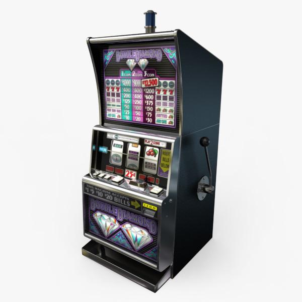 casino slot machines 3d model