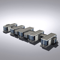 3d max modern generic building