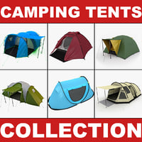 Camping Tents Collection 2