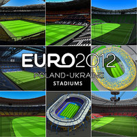 Euro Poland and Ukraine Stadiums Collection