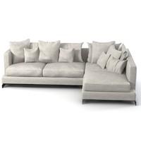 Flexform Long Island corner sectional  sofa