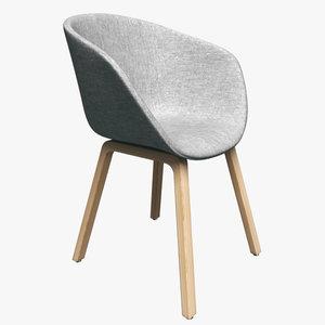 hay chair aac23 3d model