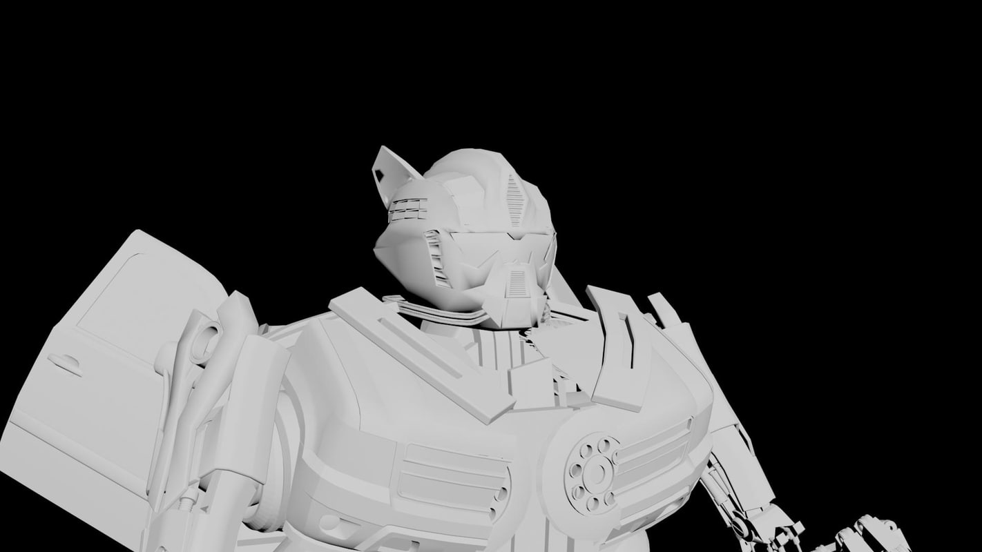 3d model autobot bot