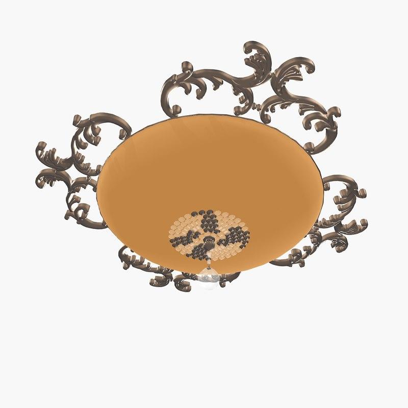 3ds max lalampada seiling lamp