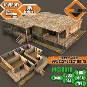interior building obj