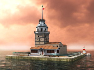 3d max maiden tower