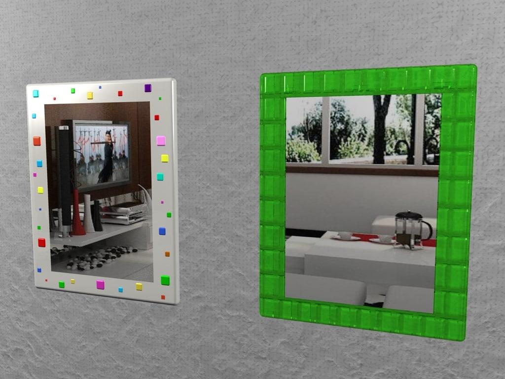 cinema4d mirrors modern