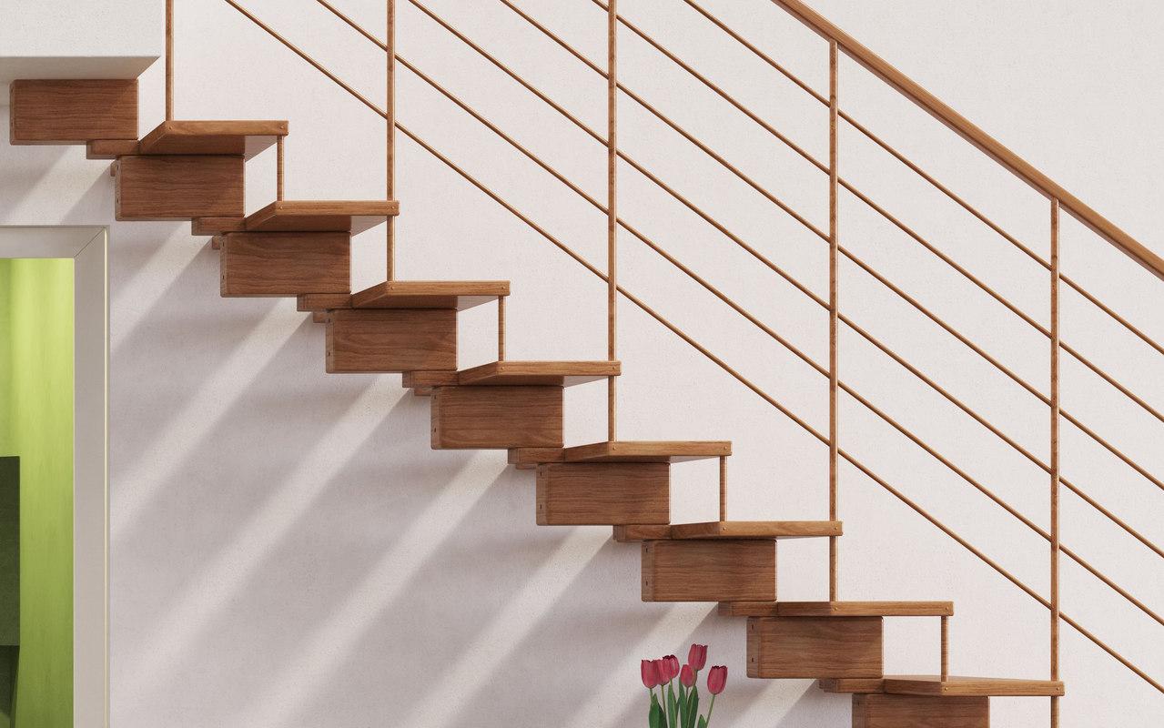 3dsmax stair