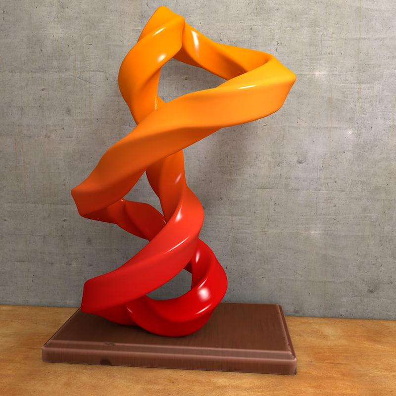 modern art 3d c4d