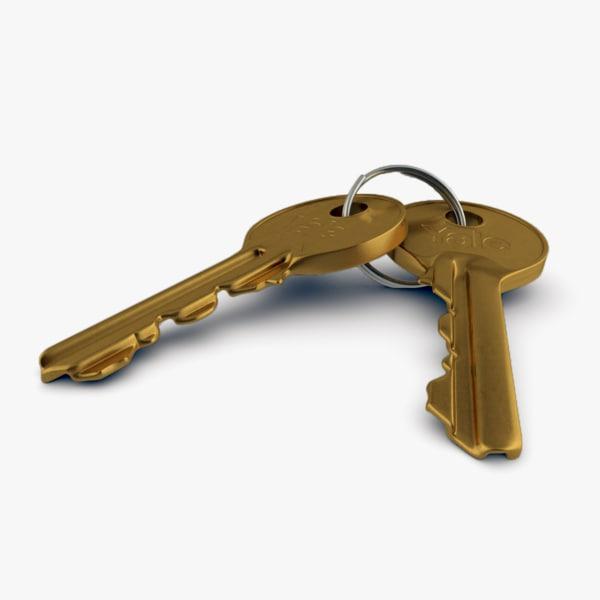 door key 3d model
