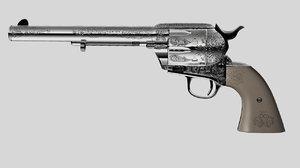 3d model shooter colt